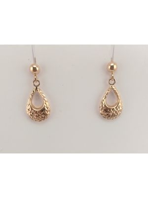 9ct Rose Gold Earrings